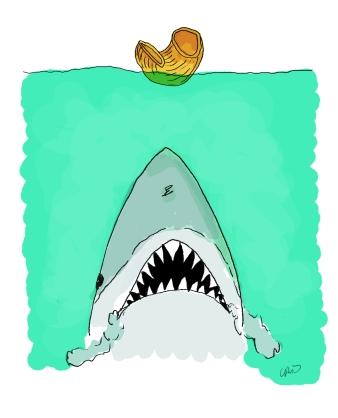 Jaws (Postal de Nadal)