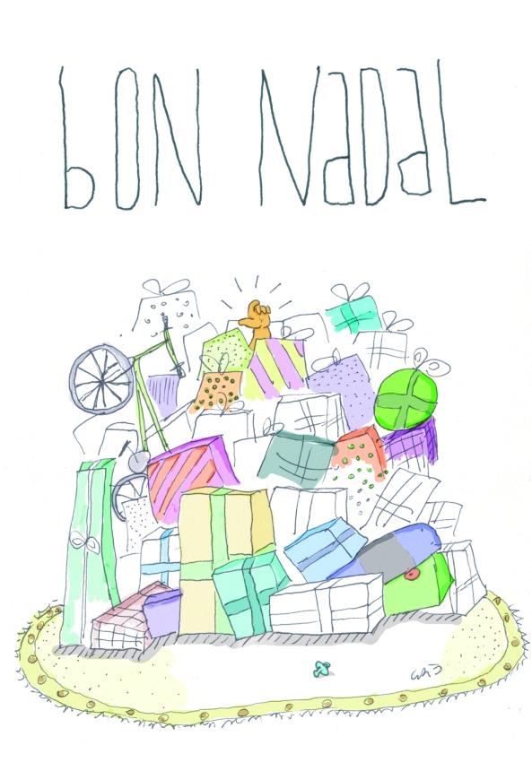 Consum (Postal de Nadal)